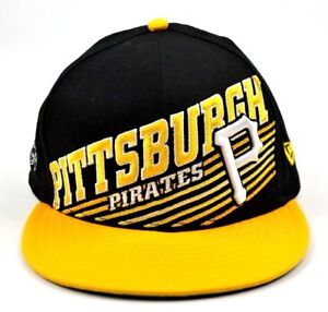 50d49eb6f7b New Era Fits MLB Pittsburgh Pirates Big Logo Snapback Hat Cap FREE ...