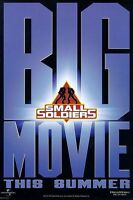 Small Soldiers Original Single-sided Advance Rolled Movie Poster 27x40 1998