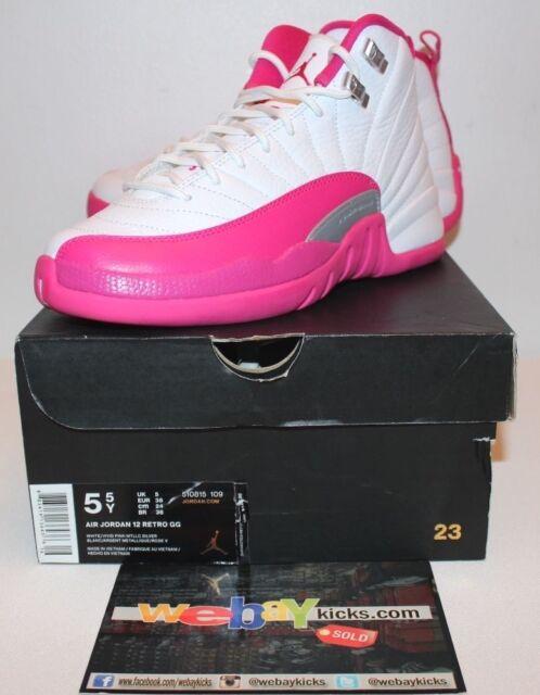 Air Jordan 12 Retro GG Vivid Pink Size