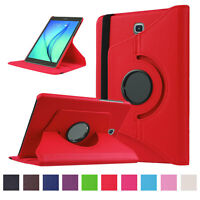 360 Rotating Pu Leather Stand Case Wake Cover For Samsung Galaxy Tab S2 9.7 815