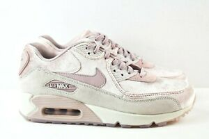 juguete Comida sana Torpe  Nike Air Max 90 Zapatos para mujer Talla 9 LX 898512 600 Terciopelo Rosa de  partículas | eBay