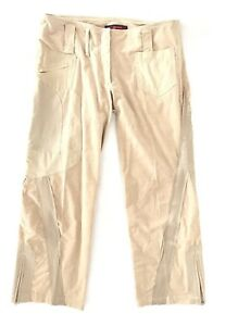 0bb634880b75 BCBGMaxazria Womens Corduroy Pants Size 4 x 27 Straight Bootcut ...
