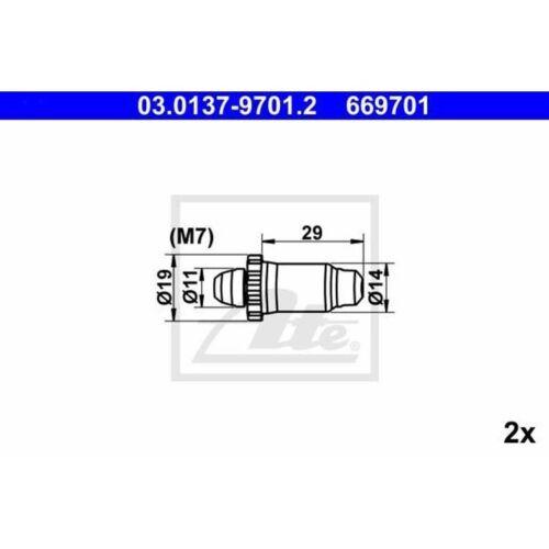 ATE Reparatursatz autom Nachstellung hinten BMW Ford MG Peugeot Rover