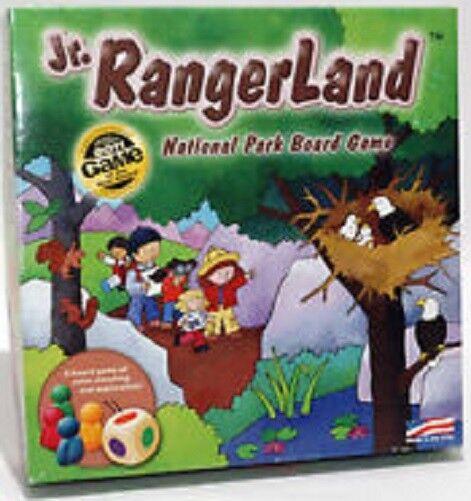 Jr. rangerland nationalpark brettspiel (2 bis 4 spieler) - neue versiegelt