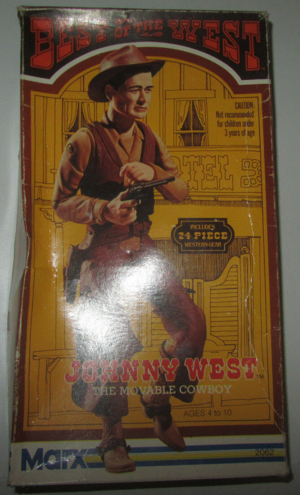 Marx Johnny West99% Complete MIB Scatola ORIGINALE  1974 Made in USA Johnny West