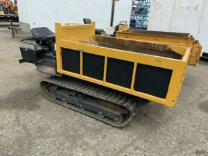 Diesel Powered Tracked Compact Carrier / Dumper Canada Preview