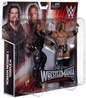 Roman Reigns & Triple H Wwe Mattel Wrestlemania Battle Pack - Mint - In Stock