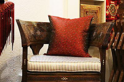 44 x 100 cm Tischläufer,aus reiner Seide,Handgewebt,aus Syrien