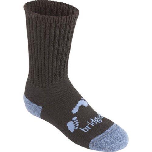 Bridgedale Junior WoolFusion Trekker Midweight Hiking Socks Wool Blend Sz M,LXL
