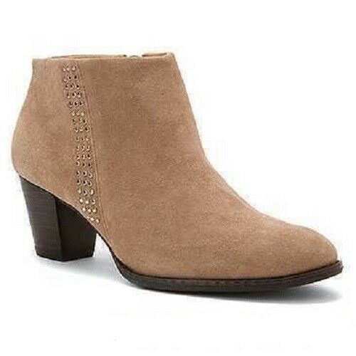 VIONIC with Orthaheel Technology Georgia Ankle Boot Oat