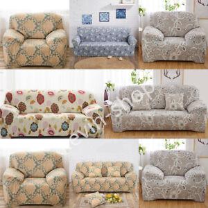 protector stretch elastische hussen stuhl sofa cover couch 1 2 3 4 sitz fit set ebay. Black Bedroom Furniture Sets. Home Design Ideas