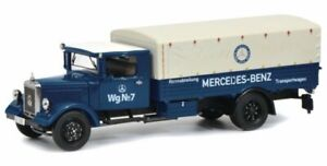 MB Mercedes Benz Lo 2750 - Rennabteilung - Wg. No 7 - SCHUCO 1:43
