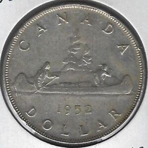 1952-Canada-Dollar-Coin-VF-30