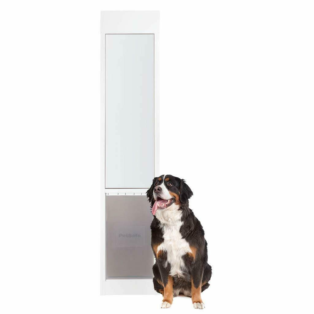Freedom Aluminum Patio Panel Sliding Glass Dog And Cat Door X Large White Pet For Sale Online