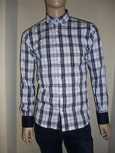 Camicia-uomo-quadro-asola-contrasto-Kuss