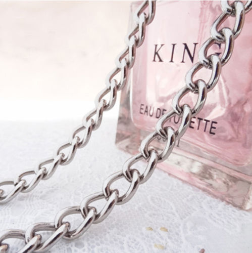20-120 CM Iron Grinding Chain Bags Chain for Handbag Strapping Bag Silver Bronze