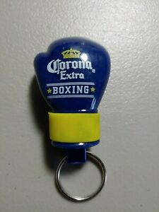 Corona Extra Beer Ad Promo Metal Small Boxing Glove Key Chain Bottle Opener New