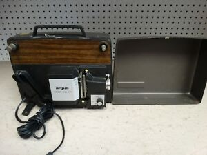 Argus-Holiday-Dual-848-8mm-Projector-powers-on-needs-work