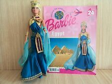 Barbie Doll Wearing Egyptian Discover the World Costume with Booklet
