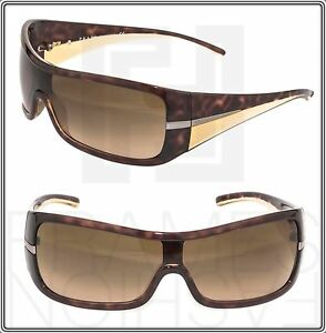 a0dd01d20e9 Image is loading PRADA-Wrap-Brown-Tortoise-Beige-Gradient-Sunglasses-SPR-