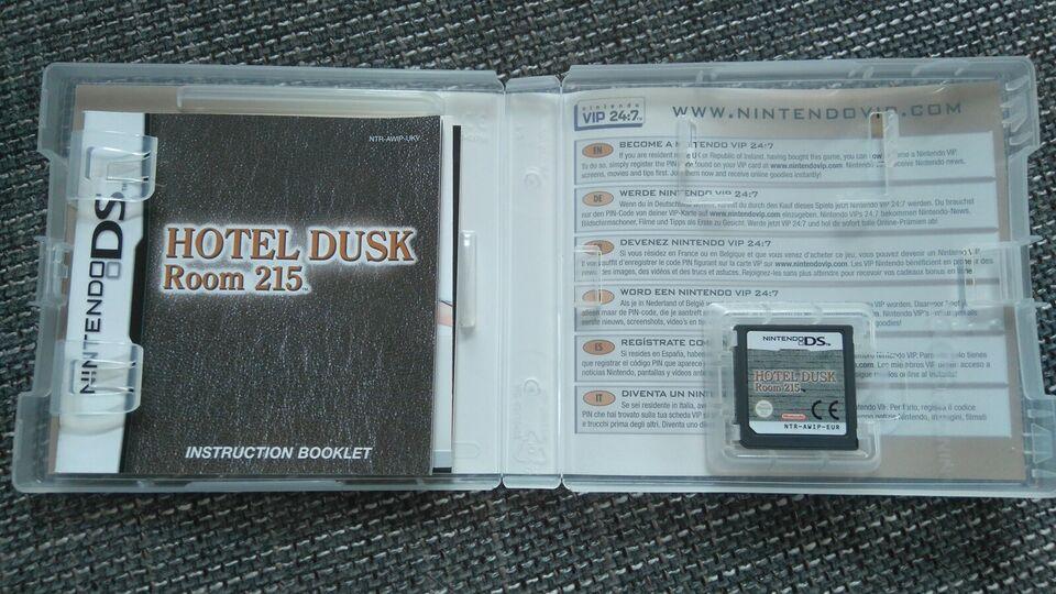 Hotel Dusk: Room 215 , Nintendo DS, adventure