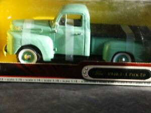 Road-Signature-1948-Ford-f-1-Pickup-Truck-1-18-Scale-Diecast-Model