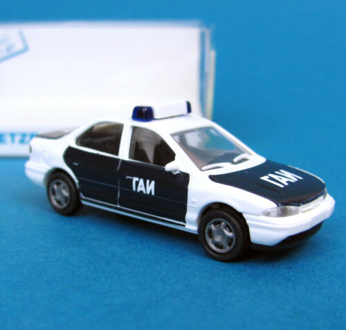 Rietze h0 50576 FORD MONDEO гаи Gai trasporti POLIZIA RUSSIA RU OVP ho 1:87 BOX