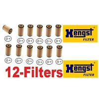 12-pieces Hengst (made In Germany) Oil Filter's For Sprinter Diesels on sale