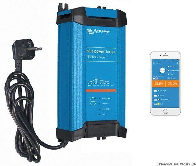 Ladegerät Victron Blausmart Marke Victron energy Blau Blau energy power 14.272.17 0a70af