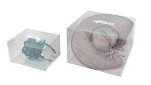Image is loading 30-PACK-CLEAR-HAT-STORAGE-BOX  sc 1 st  eBay & Details about 30 PACK CLEAR HAT STORAGE BOX