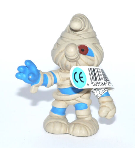 """Nuovo con banderuole-NEW with tag!!! 20544 /"""" Mummy SMURF/"""" #schleich /""""le mummie PUFFO/"""""""