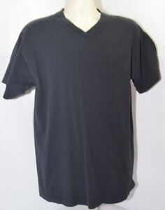 blank black t shirt v neck