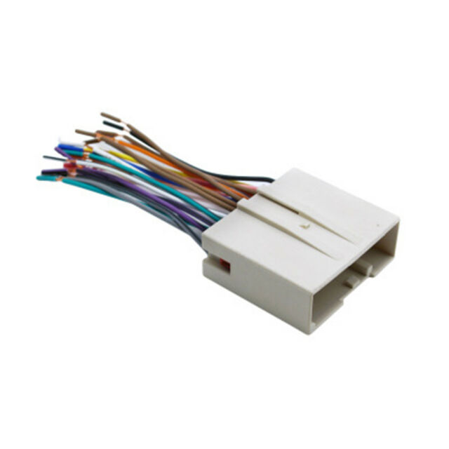 Car Radio Stereo Wire Wiring Harness For Fordlincoln Female Cable Rhebay: Car Stereo Wire Harness Female At Gmaili.net