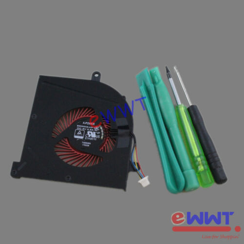 Replacement BS5005HS-U2F1 Cooling Fan+Tool for MSI GS63VR GS73VR 6RF 7RF ZVOT761