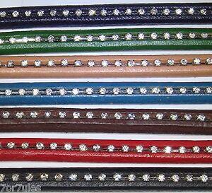 4-Piezas-de-Cuero-20cm-Para-Abalorios-Regaliz-10mm-A113A-Bisuteria-Leather-Cuir