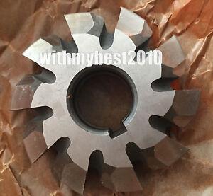 HSS Module 5 20 degree PA #4 Cutting Range 21-25 Teeth M5 Involute Gear Cutter
