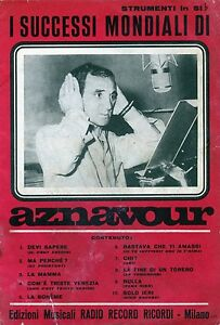 Werbung-1962-AZNAVOUR-034-I-SUCCESSI-MONDIALI-DI-AZNAVOUR-034