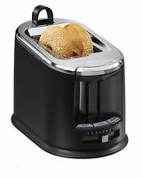Hamilton Beach Extra-wide 2-slice Bagel Toaster With Toast Tongs, Black   22323 on sale
