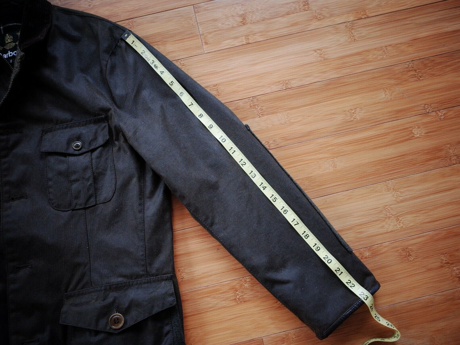 Barbour Dalkeith Wax Jacket – (size Small)  - image 12