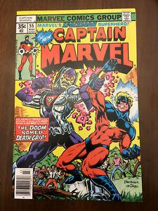 CAPTAIN-MARVEL-55-Marvel-Comics-1978-FINE