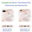 JAHOLAN-Stylish-Shiny-Rose-Gold-Marble-Design-Clear-Bumper-TPU-Soft-Rubber-Phone miniatuur 7