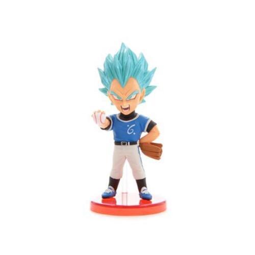 Dragon Ball Super World Collectibles Volume 8 Blue Vegeta Figure NEW Collectible