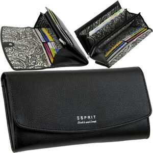 e502688b71326 Das Bild wird geladen ESPRIT-Damen-Brieftasche-16-Karten-Geldboerse- Geldbeutel-Portemonnaie-