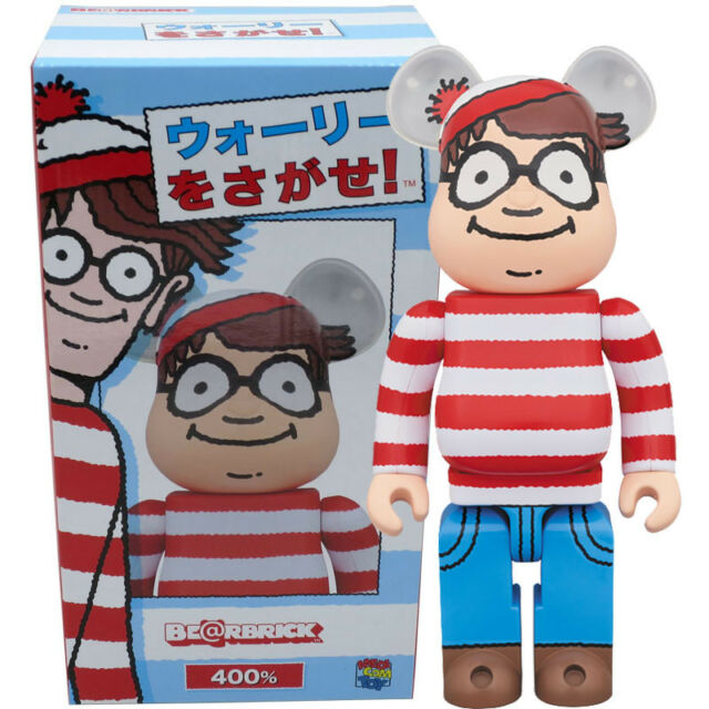 f83a0792 Where's Waldo Wally 400 Bearbrick by MEDICOM Toy for sale online | eBay