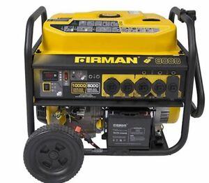 NEW Firman P08003 10000W Electric Start Portable Performance Generator