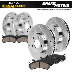Front Brake Rotors Ceramic Pads For 2004 2005 2006 2007 2008 Chrysler Pacifica