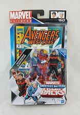 "Marvel Universe 3.75"" Comic Packs Greatest Battles Wonderman & Quicksilver"