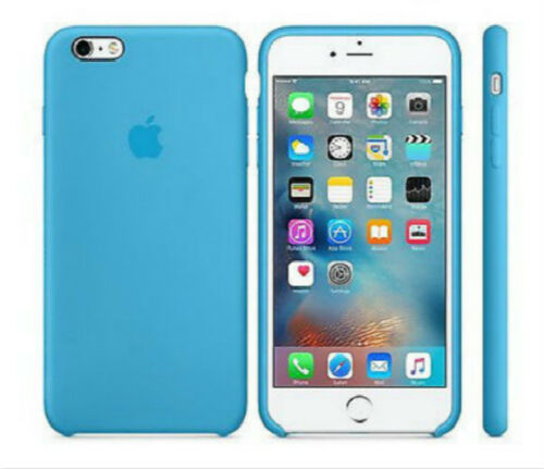 Genuine Original Soft Silicone Case Cover For Apple iPhone X 8 Plus 7 7Plus 6 6S