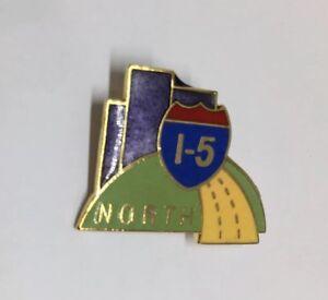 I-5 North Highway Jonathan Grey Associates Tustin California Pin Lapel