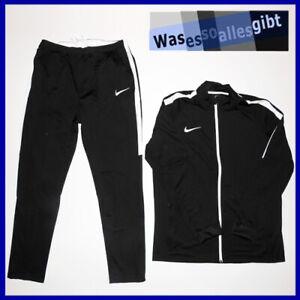 SCHNAPPCHEN-Nike-Academy-Dry-Tracksuit-schwarz-weiss-Gr-XL-T-9426